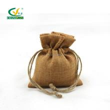 Factory directly supplier screen printing wholesale hemp bag drawstring