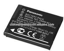 2.5wh 3.6v 690mAh li-ion battery pack 3.7v DMW-BCL7E replacment external lithium battery pack for digital camera Lumix XS1 FS50