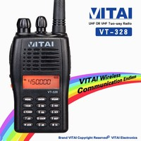 VITAI VT-328 PC Program 128 CH VHF/UHF 136-174/400-470MHz Professional Handy Talky