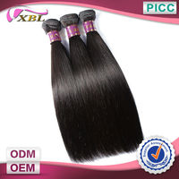 Free Shipping Hair Extension Top Quality Hot Sale 3pcs/lot Straight Virgin Human Hair