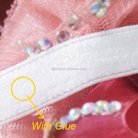 colored garment woven silicone elastic tape