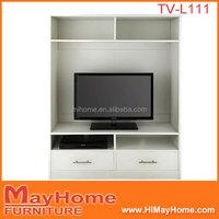 Modern living room furniture design simple lcd wooden tv rack