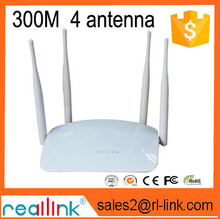 OEM 500mw high power Reallink chipset based 300Mbps commercial captive portal openWRT Wireless Router