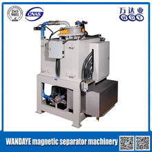WANDAYE China top brand clay processing plant iron sands magnetic separators, feed plant perfume designs