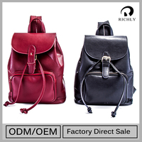 2015 Top Sale Custom Fit High Quality Leather Backpack
