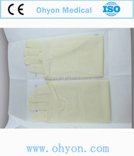 Disposable latex gynecological gloves Long Cuff up to 530-550 mm