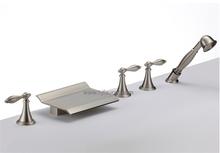 Hot Sale 5 pcs Fancy Bathtub Faucet (85H02-BN)