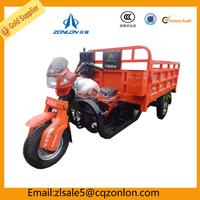 Zonlon Tricycle Tuk Tuk Enclosed Cargo Tricycle Three Wheel Mini Car