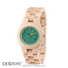2016 Wood Quartz Ladies Watch Natural Wood Watch Wholesale