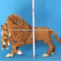 más popular Dino-Mucca gran vida de plástico de tamaño león plástico