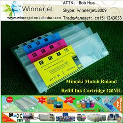 Wide-format Printer Refill Ink Cartridge for Mutoh RJ900
