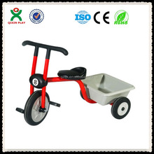 children Tricycle with two back seats / Three Wheel pedal car/kids tricycle with back seat QX-177J