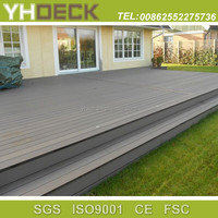 crack-resistant outdoor portable waterproof wood plastic decking