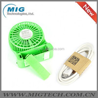 portable usb fan Rechargeable USB Desk Pocket, Handheld Travel Blower Air Cooler, mini USB fan