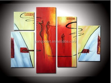 Fashion acrylic Painting Colorful Abstract oil Painting