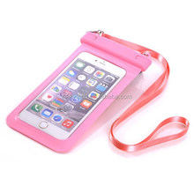 PVC Waterproof Phone Case Underwater Phone Bag Dry Pouch For iPhone 4 5S 6 6+ for Samsung S2 S3 Waterproof Pouch
