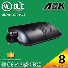 IP66 IK10 With 8 years warranty UL cUL DLC TUV CE RoHS SAA daylight sensor street light