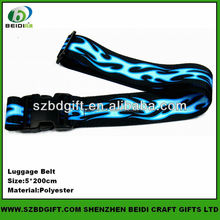 Custom polyester webbing and travel luggage belt webbing