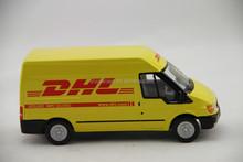 1:32 DHL good design scale metal van model