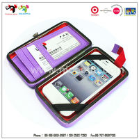 Best selling waterproof cell phone case wallet with card holder