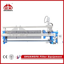Fully Automatic Filter Press Machine Reducing Labor Cost, Clay Filter Press with Self Cleaning