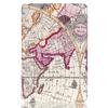 2015 New Worldmap Pattern Tri-fold Smart Leather Cover Case for iPad Mini 4