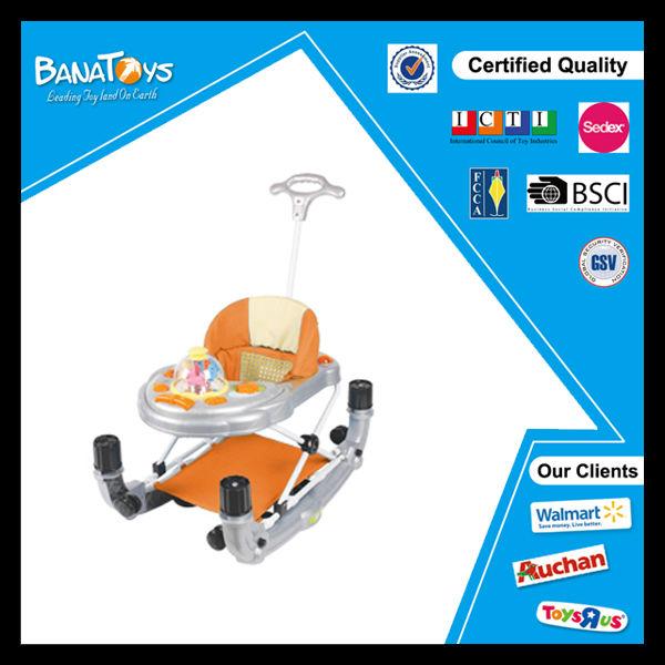 bebé de alta calidad venta cochecito con el mango de bebé walker