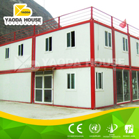 Stylish prefabricated house modern motel buildings container