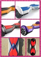 Transformers colorful light up 6.5/8 inch self balancing electric scooter with bluetooth