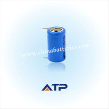 ATP rechargeable battery 14250 3.7V 300mAh for instruments