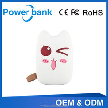 ultra thin totoro facial expression hot sale power bank for samsung galaxy tab
