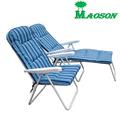 muebles de aluminio silla de salón al aire libre
