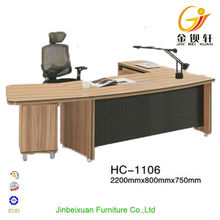 Executive Office L Shaped Table Beige Workstation