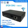 Ftth networking gepon 1FE WIFI onu compatible with Huawei/ZTE olt