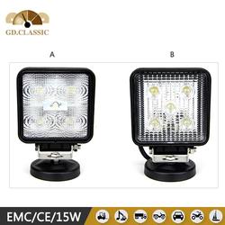 """KR4153 head lamp 10-30V 4"""" 15W LED Work Light for Mustang 12 Months Warranty"""