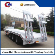 Factory sale low bed trailer dimensions optional