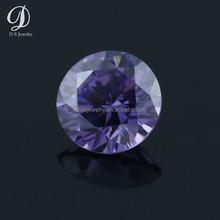 Hot sale precious round brilliant cut loose cz for jewelry