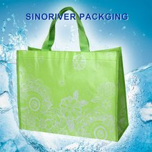 superior quality recycled laminated pp woven Shopping Tote Bag