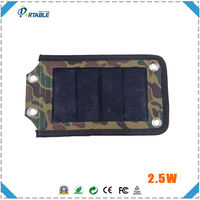 new products Portable travel smart charger waterproof solar panel for mobil phone