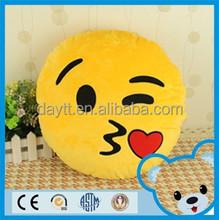 stuffed witt PPcotton soft emoticon pillow soft round emoji pillow