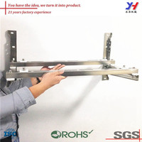OEM ODM air conditioner support wall brackets/metal wall bracket for air conditioner
