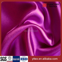 china wholesale 100 polyester fabric satin