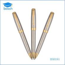 Golden clip luxury metal ballpoint pen ball pen