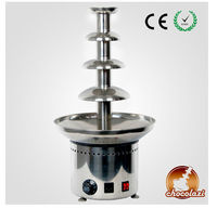 CHOCOLAZI ANT-8060 Auger 4 tiers stainless steel commercial fruit for chocolate fountain