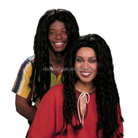 Jamaican Rasta Dreadlocks Wig for Halloween Costume Fancy Dress