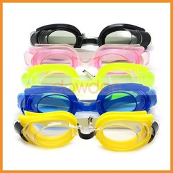 Colorful Cool Water Sports Swimming Goggles For Kids