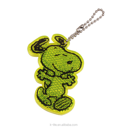 Snoopy keychain for bag , Pedestrian safety , small hanger