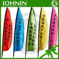 professional production durable outdoor use custom Advertising Long Flag