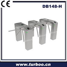 Waist height industrial security gate/turnstile gate