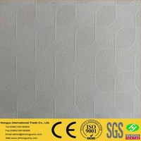 mouldproof pvc coated 60x60 gypsum ceiling tiles material